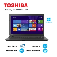 "TOSHIBA C55-B/5213KL 15.6"" CI3-4005U 500GB 4GB DVD BT NO CAM SPA"